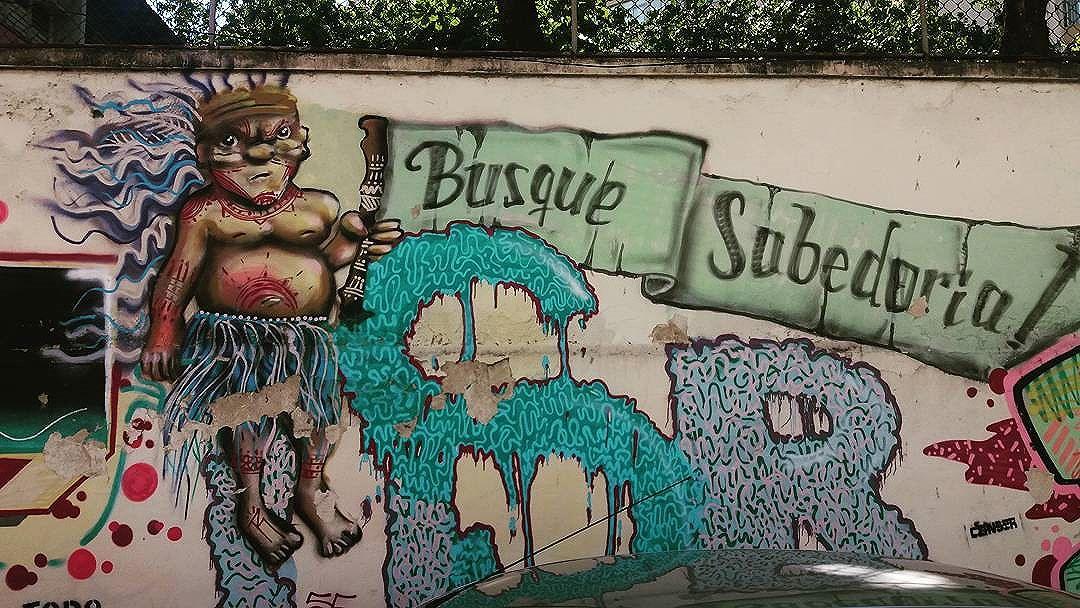 Por um Natal sábio... #grafittinoriodejaneiro #streetartinrio #streetartrio