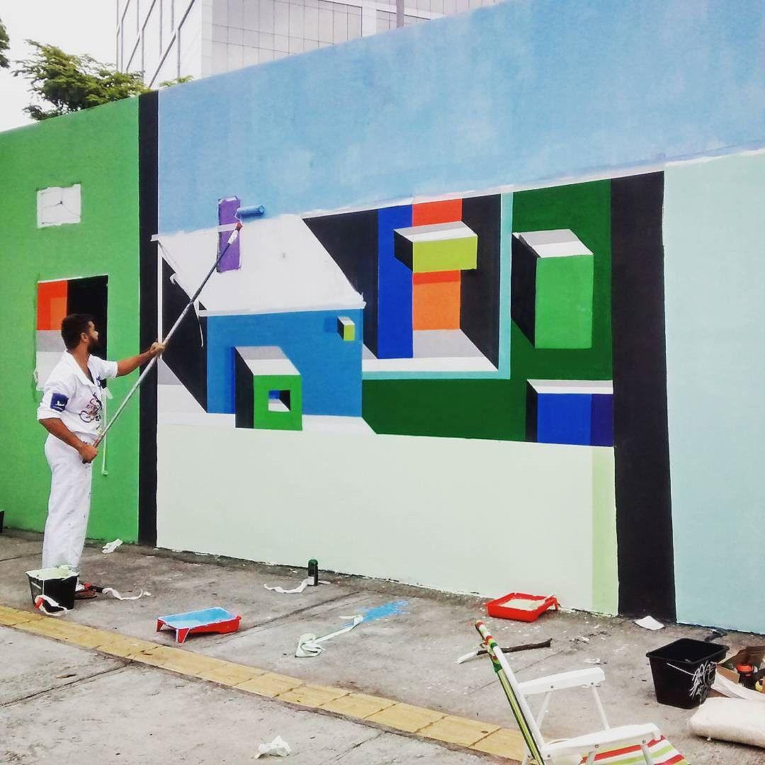 #produzindo #mariobands #bands #artistainterventor #artistasurbanoscrew #classeD #streetartrio #streetstyle #arteurbana #artedecoração #instagrafite #artrua #artRio #muralista #3D