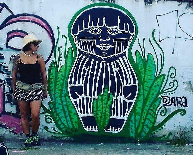 Qd o negativo se transforma em luz .. p nós, #Força e #Proteção !! #Resisteíndio #resistestaile #arteurbana #streetstyle #streetart #streetartrio #paint #painting #artenarua #graffiti #acrilic #sprayart #pictureofftheday #masterpiece #daniramalho #DaRa
