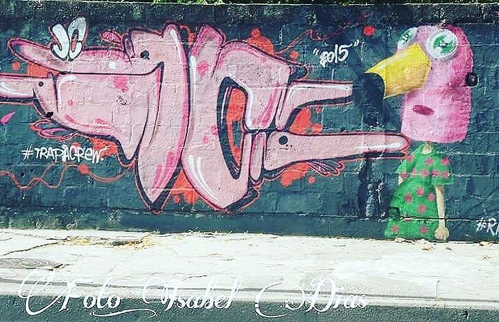 #rafa #rafaelgeraldo #trapacrew #jc #streetphotography #streetphotographers #ofantasticomundodografite #flamingo #streetartrio #streetartist #graffirio #graffiticarioca #riodejaneiro #sprayart #aerosolart #be_one_urbanart #graffiti_of_our_world #streetartglobal #riodejaneiro #street_art #streetartist #arteurbana #tijuca