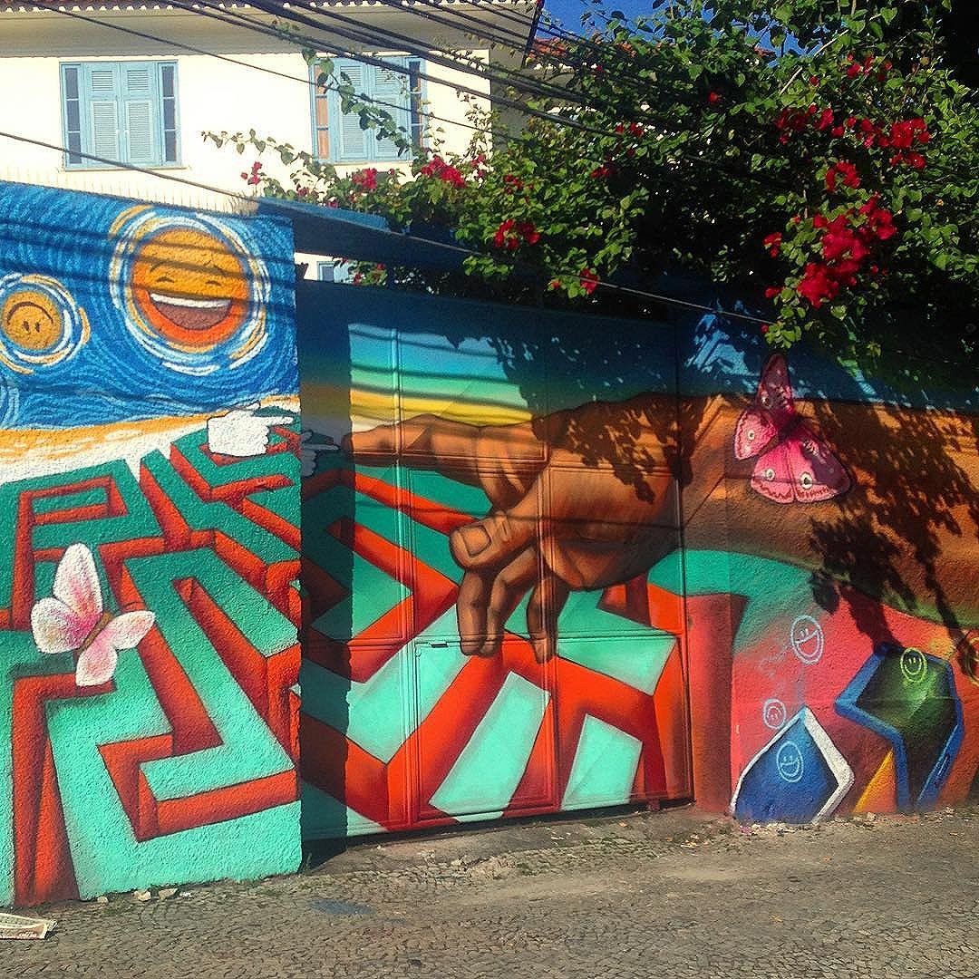 #streetart #riodejaneiro #botafogo #streetartrio #colorful