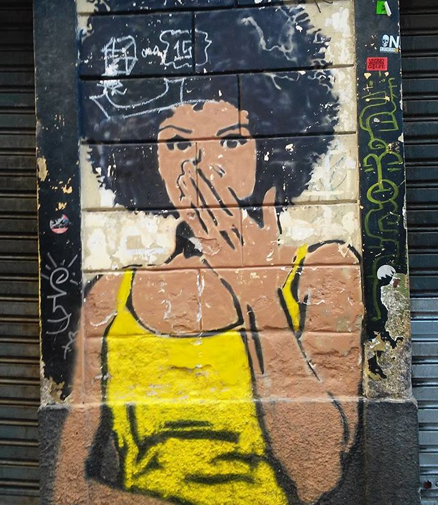 #streetart #streetartrj #streetartrio #urbanart #urbanwalls #wallart #artecallejero #arturbain #artderue #arteurbana #artederua #artenarua #graffiti #graffitiart #graffitiporn #graffitirj #instagraffiti #grafite #instagrafite #wall #muro #mur #mulher #woman #femme #downtownrio #downtownrj #centrodorio #centrorj #centrodacidaderj