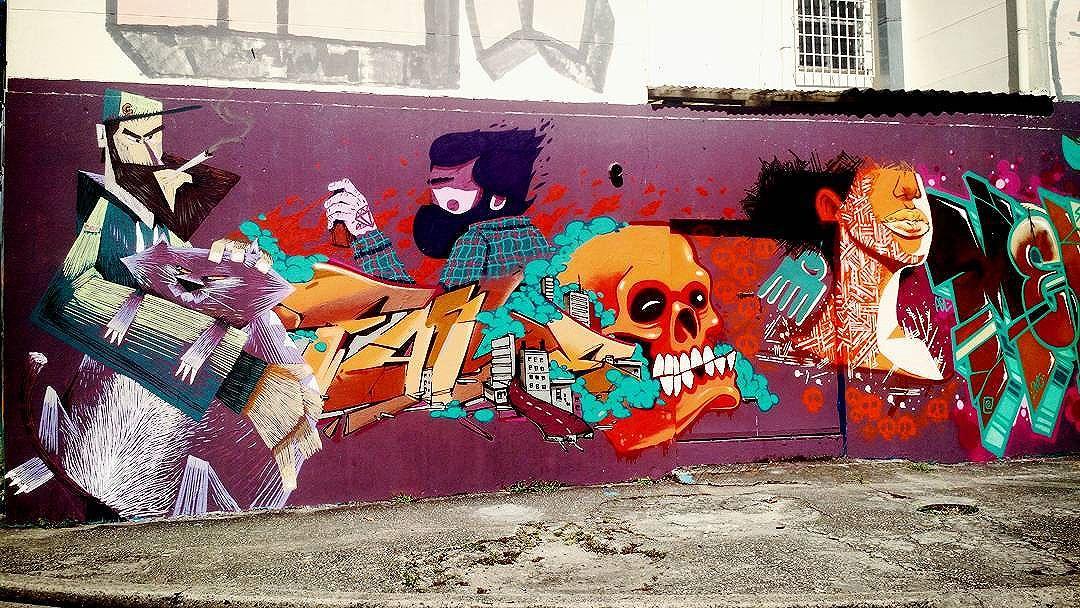 #streetart #urbanart #arteurbana #TJK #artederua #StreetArtRio #grafite #grafitti #Tijuca #instagrafite #streetarteverywhere #tijukistan #zonanorterj