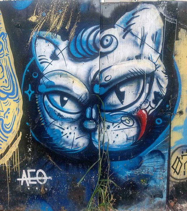#StreetArtRio  Grafite na rua Costa Pereira, próximo à esquina com a avenida Maracanã, em Vila Isabel.  Artista: Eu Jr (@eujr)  Tirada em 27/03/2016  ________________________________________________  Quer conhecer mais obras deste artista e de tópicos relacionados? Explore mais em: #g021_eujr