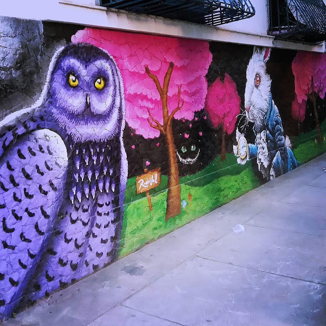 #streetartrio #wonderland