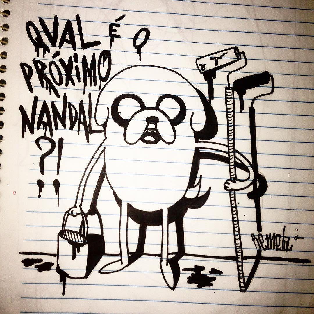 Último do ano??? #welovebombing #bombing #streetartrio #streetart #welovebombing #riodejaneiro #arteurbana #artederua #urbanart #vandal #rjvandal #vandalrj #flamengo #catete #ktt #ttk #remela #graffiti #graffitilife #street #fodasesuacrew #spray #spraypainting #bomb #jake #draw #horadeaventura #desenho #freehand