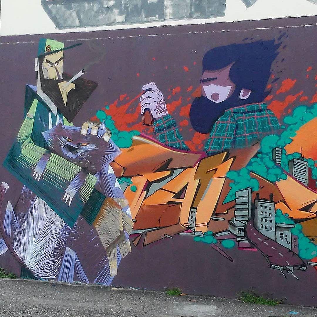 @nrvocoletivo @memiguilherme @betofame @viniciuscarvas #nrvocoletivo #streetart #StreetArtRio #streetartrj #urbanart #urbanwalls #wallart #arturbain #artderue #artecallejero #arteenlascalles #arteurbana #artederua #artenarua #graffiti #graffitiart #graffitiporn #instagraffiti #grafite #grafiterj #instagrafite #tijuca #tijucarj