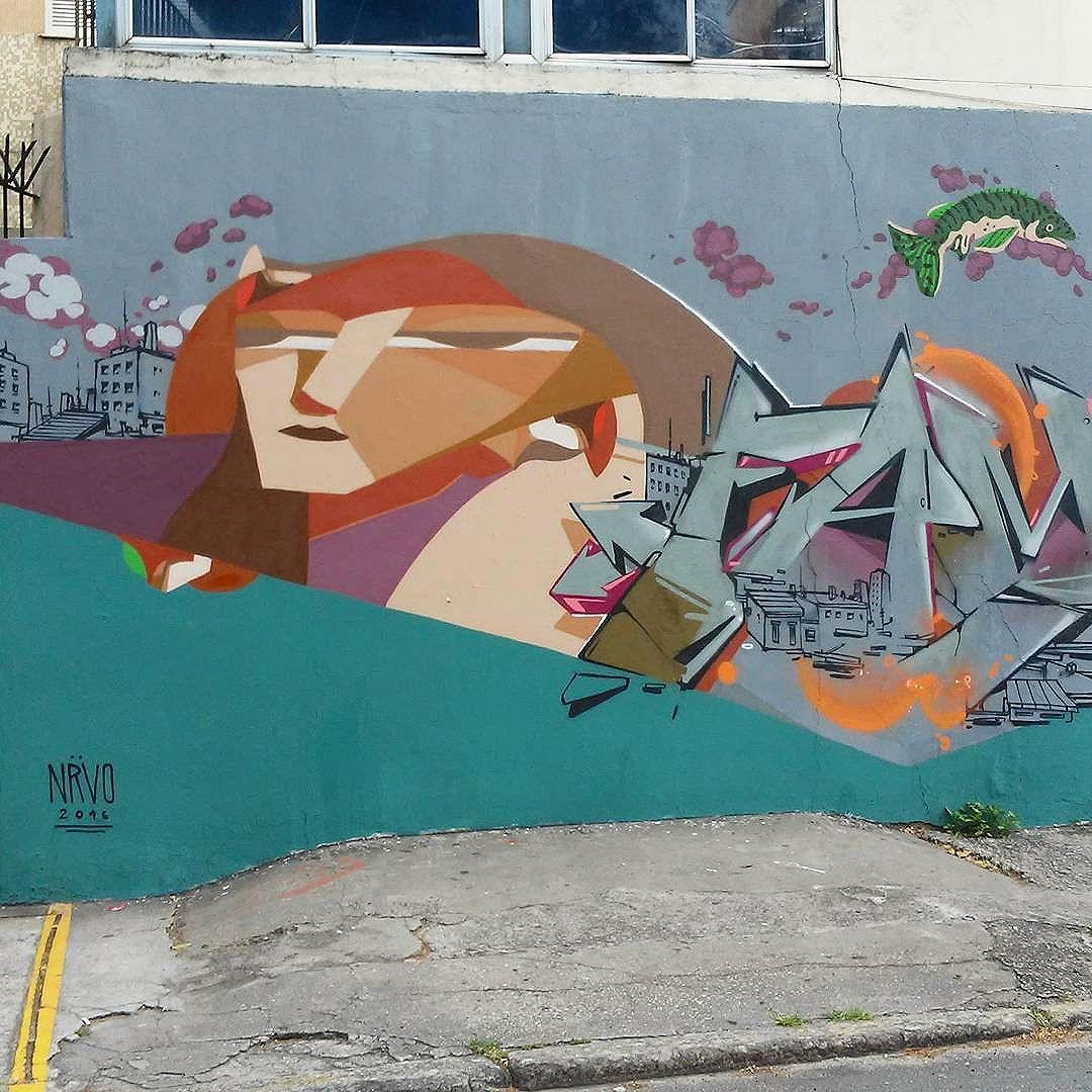 @nrvocoletivo @memiguilherme@ betofame  #nrvocoletivo #streetart #StreetArtRio #streetartrj #urbanart #urbanwalls #wallart #arturbain #artderue #artecallejero #arteurbana #artederua #artenarua #graffiti #graffitiart #graffitiporn #instagraffiti #grafite #grafiterj #instagrafite #tijuca #tijucarj