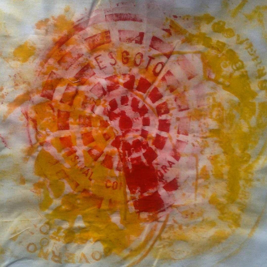 A primeira de uma série... Bueril Project #buerilproject  #artedofodasse #urbanart #mac #art #esgoto #rataria #xilogravuraurbana #xilogravura #grafitte #riodasostras #streetartrio