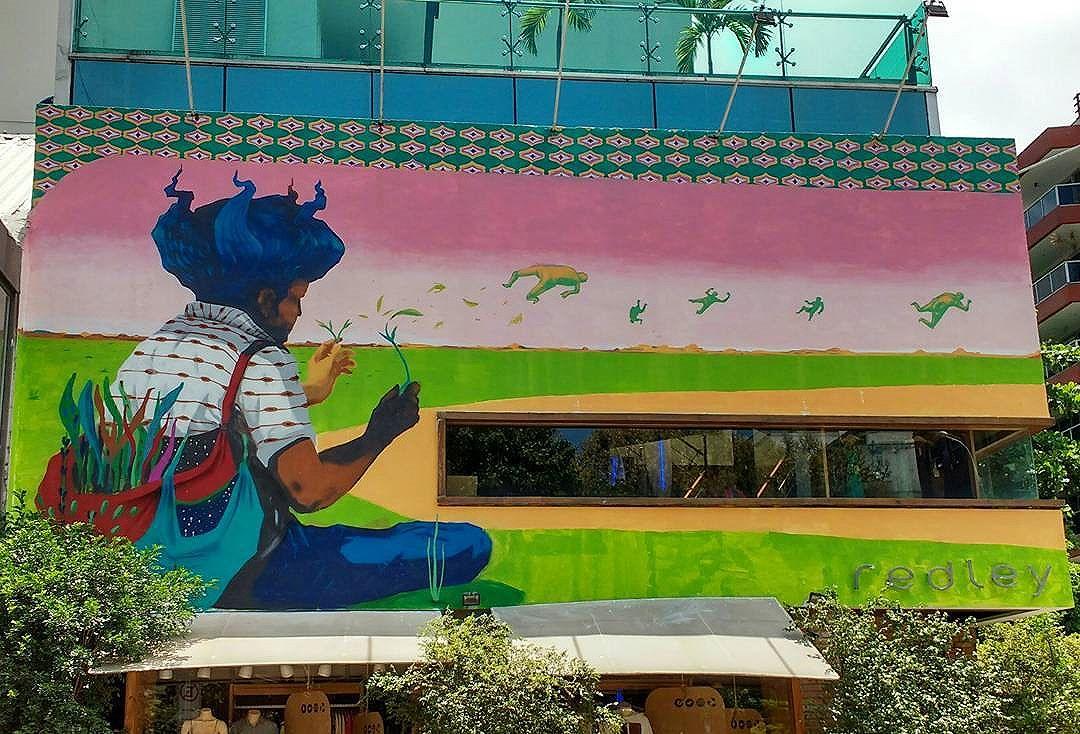 #acidumproject #graffiticulture #graffiti #urbanart #streetartrio #mural #redley #ipanema #riodejaneiro #riostreetart #urbanwallsbrazil #spray #artwork