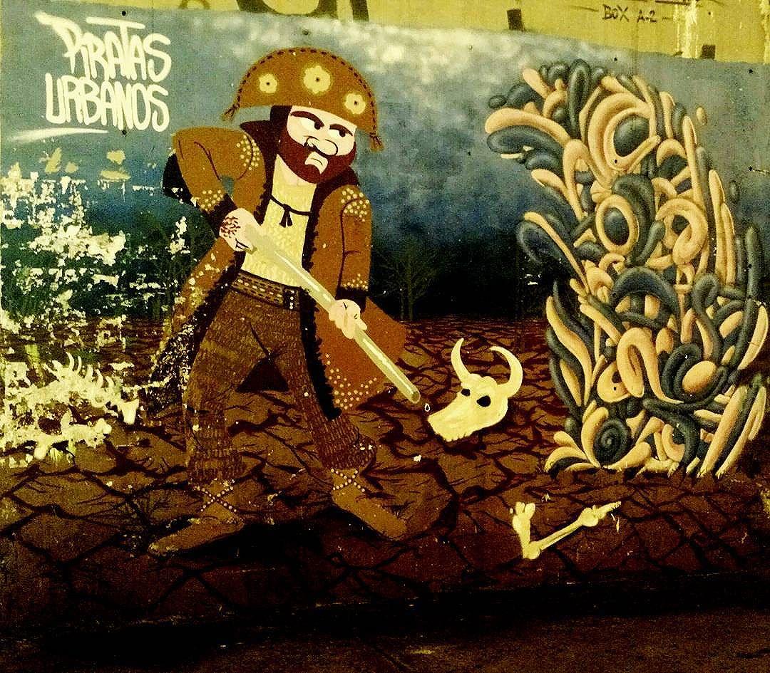 Artist: Piratas Urbanos #piratasurbanos #streetart #arteurbana #urbanart #artederua #StreetArtRio #grafite #grafitti #instagrafite #streetarteverywhere #SaoCristovao #zonanorterj