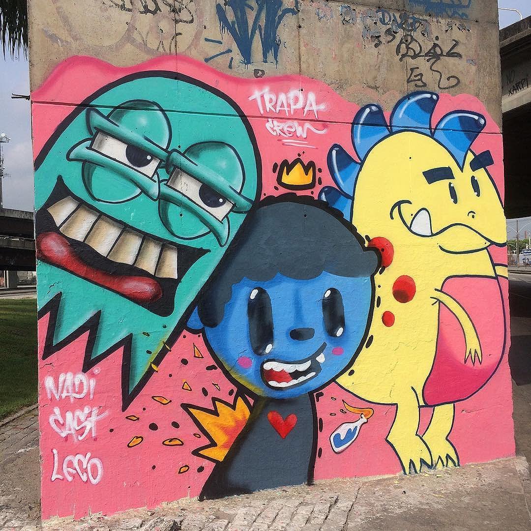 Combatendo os cinzas desta cidade #leco #maiscorporfavor #trapa #graffitirio #grafitti #streetartrio #cidademaravilhosa #muitacor #semcinza #vamoscolorir #mtn #flame #colorginarteurbana