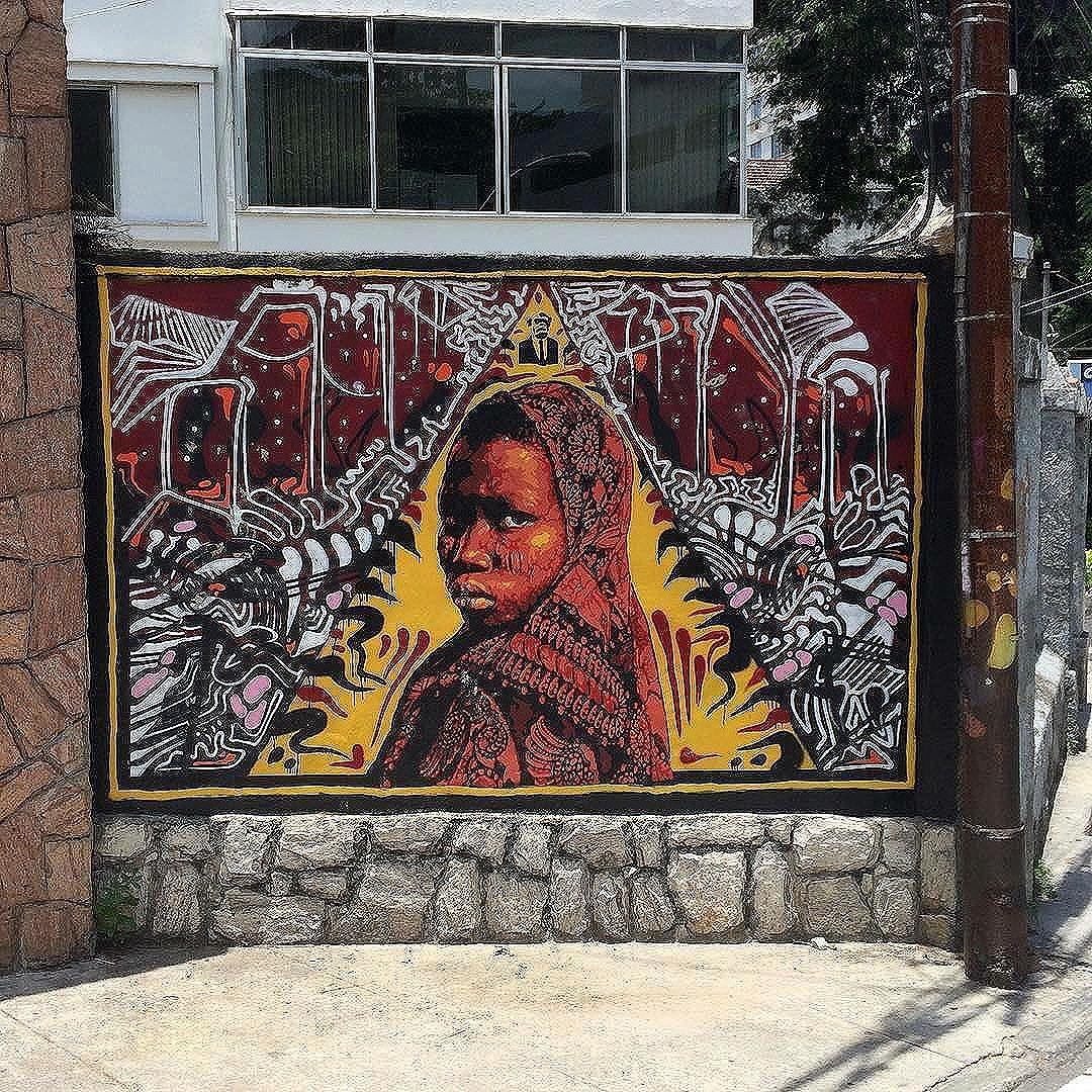 Compartilhado por: @ferafeitosa  via #StreetArtRio | Mais detalhes da obra, local e artista em: streetartrio.com.br #streetstyle #streetart #streetlife #streets #streetworkout #streetartistry #streetphoto #art #artwork #artstagram #artlife #artista #artworks #artlovers #urban #urbanarts #urbanstyle #urbanwalls #urbanwalls #urbanandstreet #graffiti #graffitiart #graffitiporn #graffitiporn #graffitiwall #graffiticulture #riodejaneiro #rio