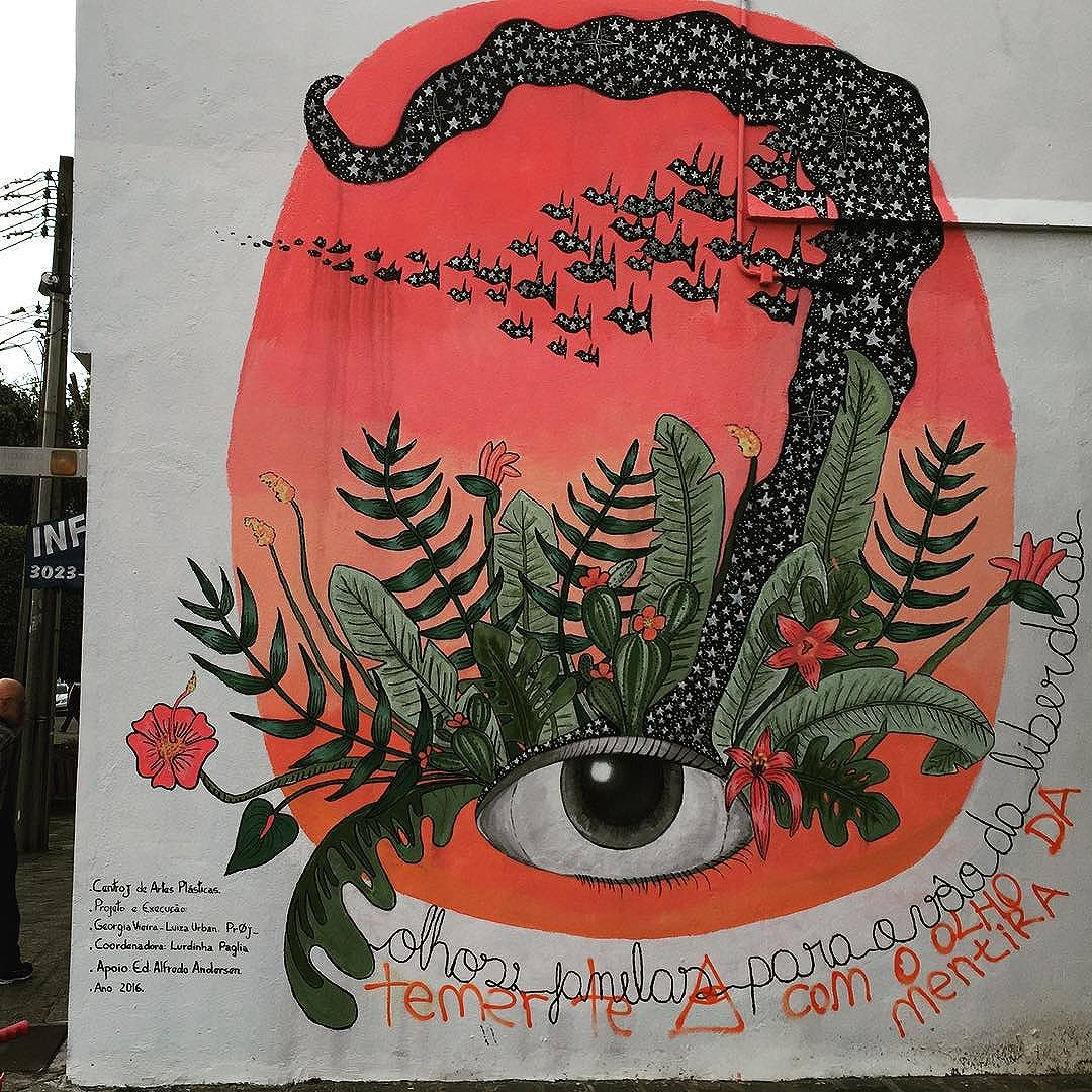 #eye of #nature More outstanding #curitiba street art from my recent trip to #Brazil with the http://www.shuffledemons.com #streetart #publicart #graffiti #instagraffiti #urbanart #graffart #graffitiart #graff #streetartrio #murals #popart #newpublicart #graffitistreet #wallgraffiti #kunst #art #sprayart #wallart #publicartwork #art_public #streetartcuritiba #curitibainstagram #curitibapics