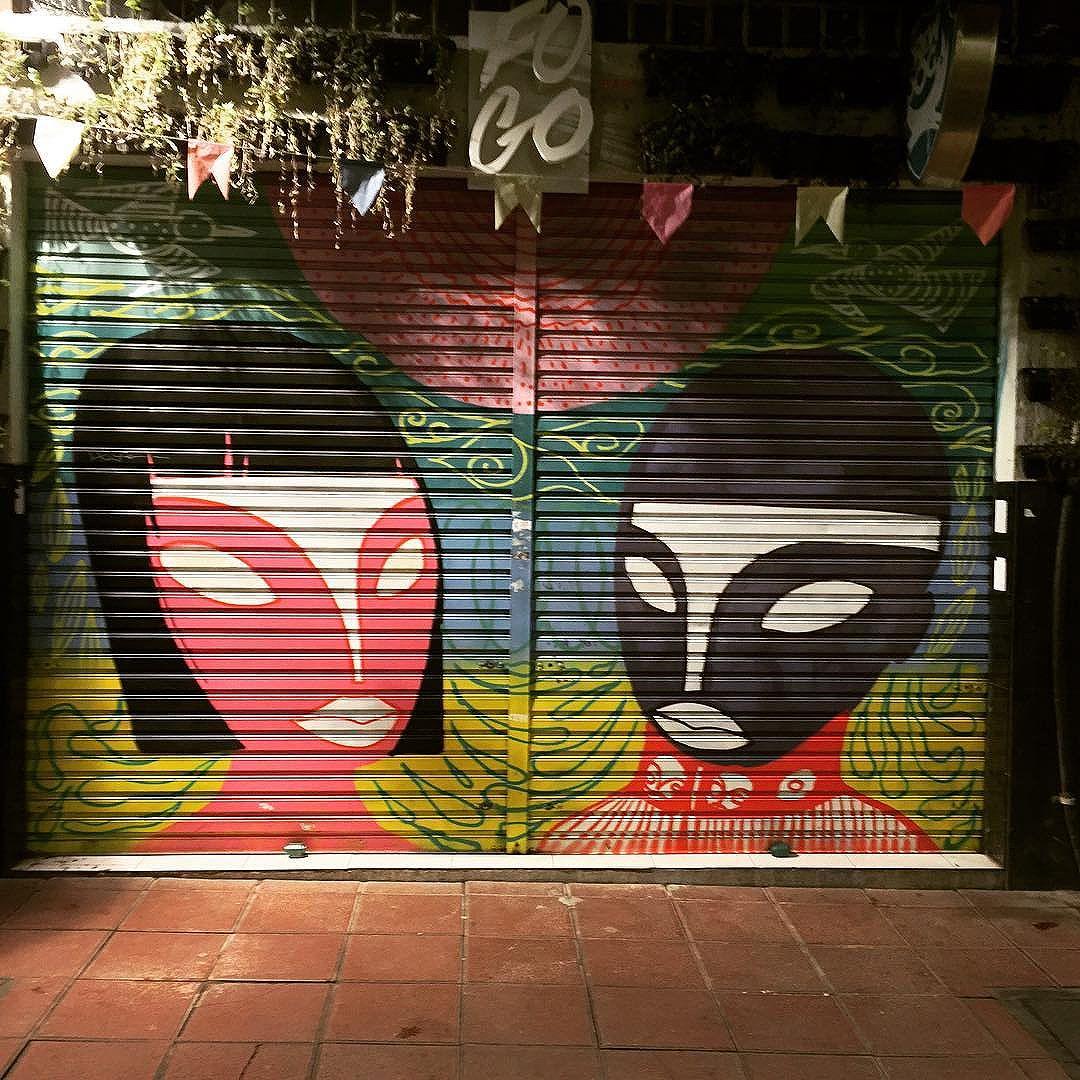 #fogo a great live #music #venue in #curitiba street art from my recent trip to #Brazil with the http://www.shuffledemons.com #streetart #publicart #graffiti #instagraffiti #urbanart #graffart #graffitiart #graff #streetartrio #murals #popart #newpublicart #graffitistreet #wallgraffiti #kunst #art #sprayart #wallart #publicartwork #art_public #streetartcuritiba #curitibainstagram #curitibapics