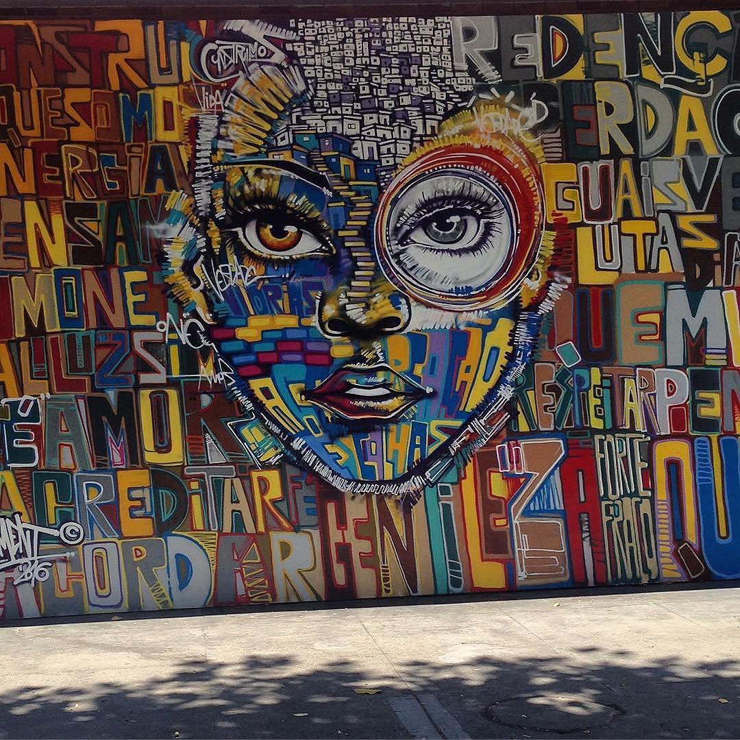#riodejaneiro #mam #streetart #streetartrio #marceloment @marceloment