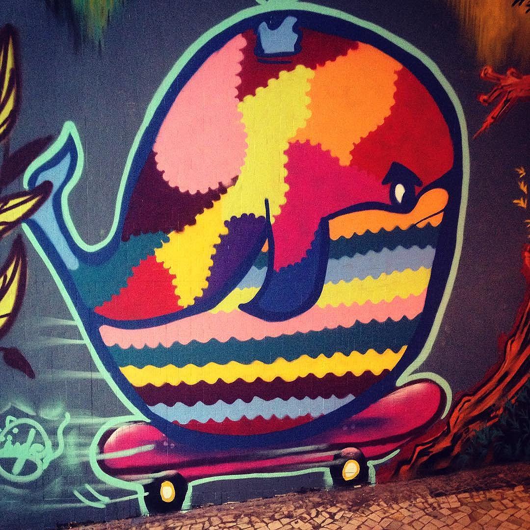 #streetart #streetartrio #bairropeixoto #travessamoacyrderiquem #twitterwhale #