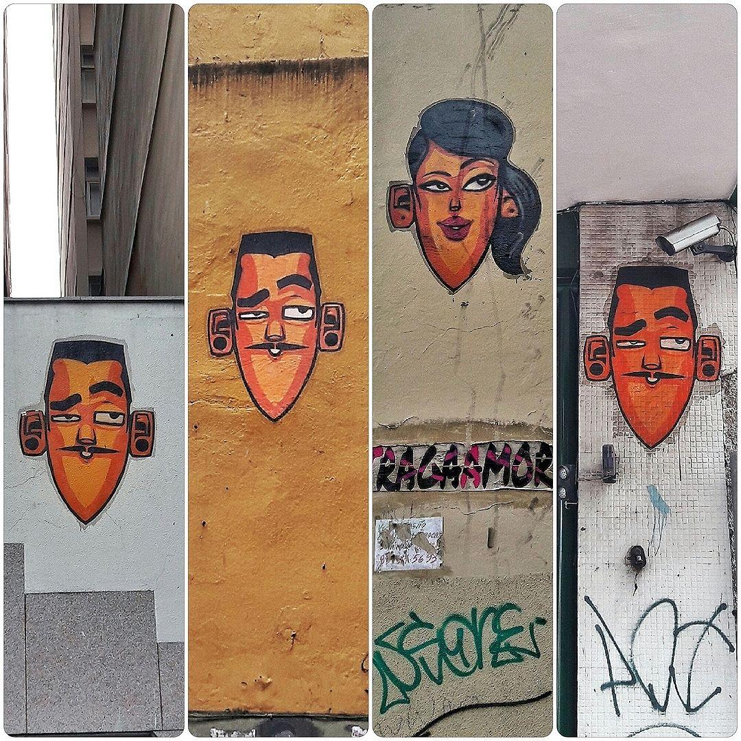 #StreetArtRio Carinhas do Eco :D Lambe-lambes nas proximidades do Largo do Machado, no Catete e em Laranjeiras. Artista: Eco (@marceloeco) Tiradas em 16/11/2016 ____________________________________  Quer conhecer mais obras deste artista e de tópicos relacionados? Explore mais em: #g021_eco #g021_lambelambe