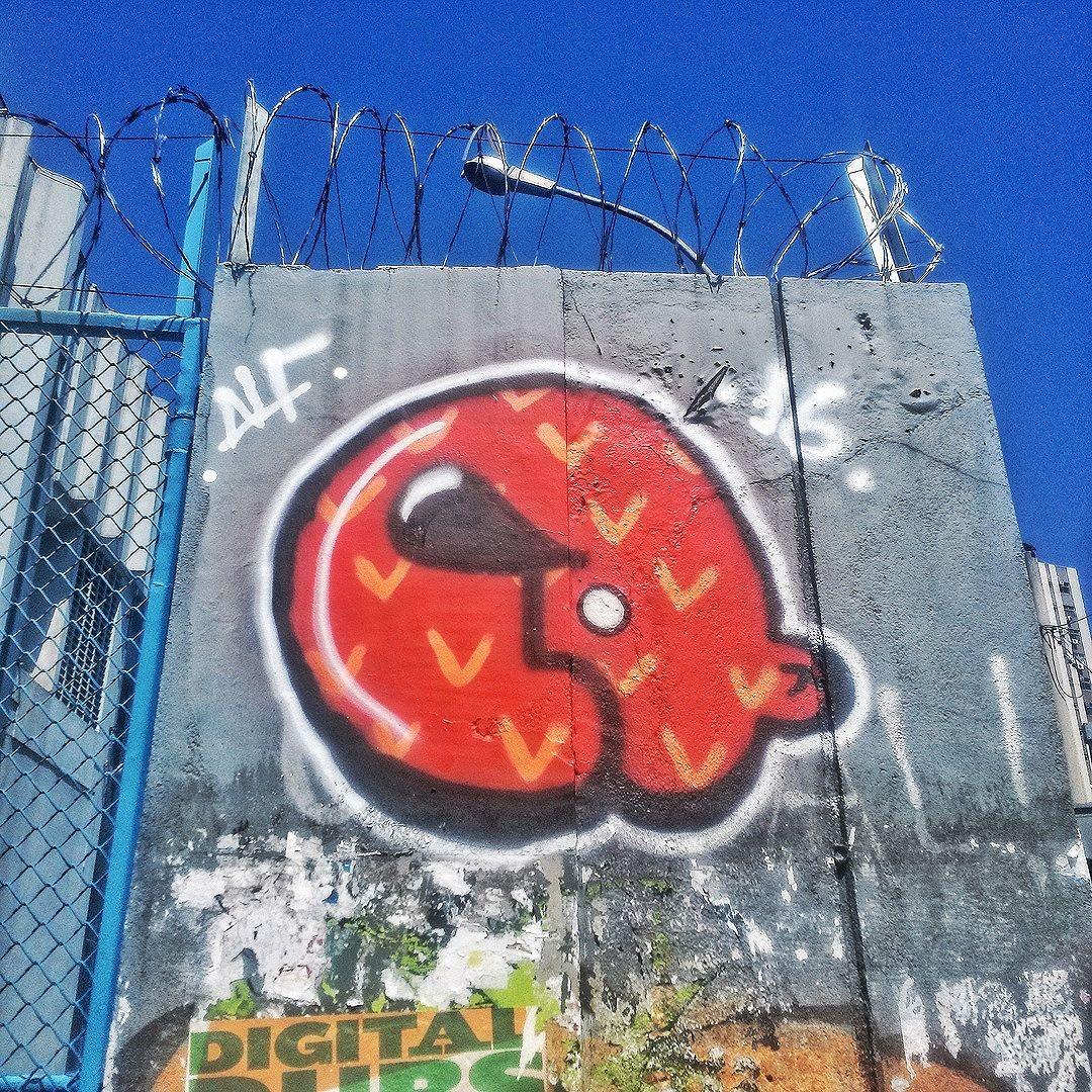 #StreetArtRio  Grafite na esquina das ruas Volutários da Pátria e Nelson Mandela, em Botafogo. Artista: Alf (@caioalf) Tirada em 21/03/2016 ____________________________________  Quer conhecer mais obras deste artista e de tópicos relacionados? Explore mais em: #g021_alf