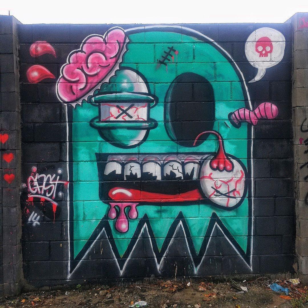 #StreetArtRio  Grafite na rua Campos Sales, entre as ruas Mariz e Barros e Pardal Malet, na Tijuca. Artista: Cast (@castleonardo) Tirada em 13/03/2016 ____________________________________  Quer conhecer mais obras deste artista e de tópicos relacionados? Explore mais em: #g021_cast