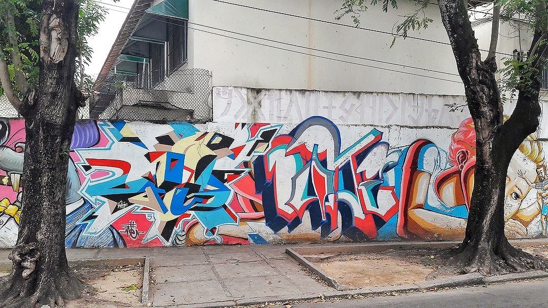 #StreetArtRio Grafite nos muros do CAp UFRJ, na Lagoa. Artistas: Meton (@meton.joffily), Swop (@joaotolentino), Duke (@dukecapellao) e Tmotz (@themoteo)  Tirada em06/09/2016 ____________________________________  Quer conhecer mais obras destes artistas e de tópicos relacionados? Explore mais em: #g021_meton #g021_swop #g021_duke #g021_tmotz