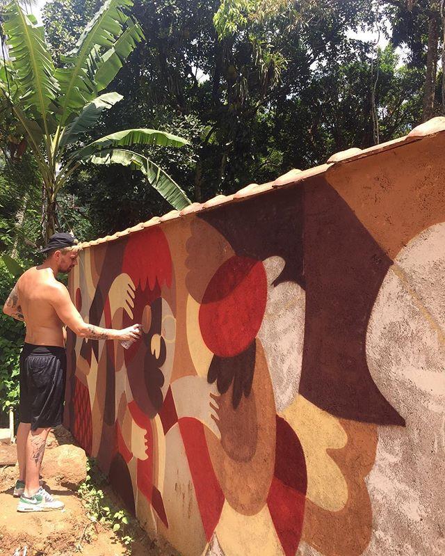 Wip #graffiti #ilhagrande #viladoabraao #plantoucolheu #riodejaneiro #streetart #streetartrio #streetartnews #streetartandgraffiti #mast #mastcora