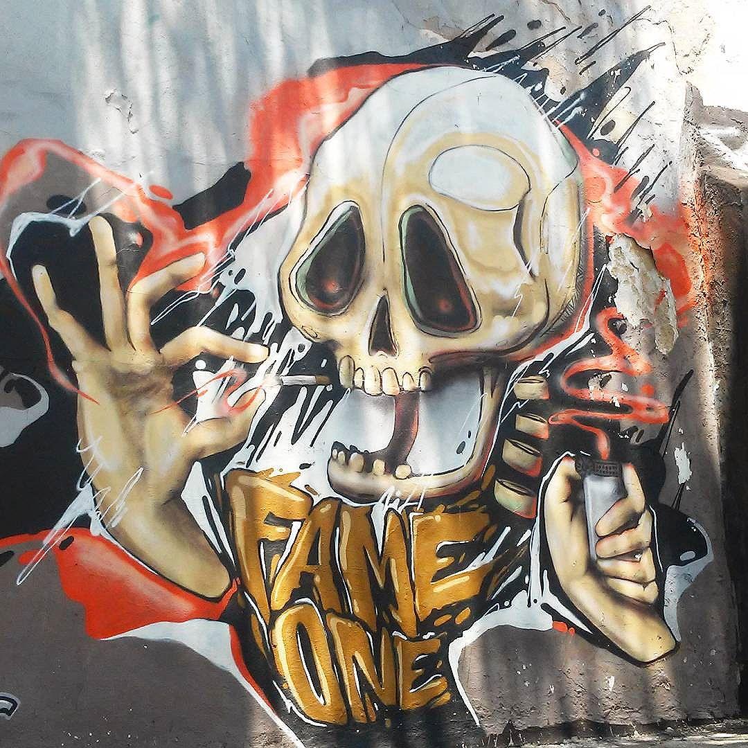 @betofame #betofame #streetart #StreetArtRio #streetartrj #urbanart #urbanwalls #wallart #arturbain #artderue #artecallejero #arteenlascalles #arteurbana #artederua #graffiti #graffitiart #graffitiporn #instagraffiti #grafite #grafiterj #instagrafite #skull #tijuca #tijucarj