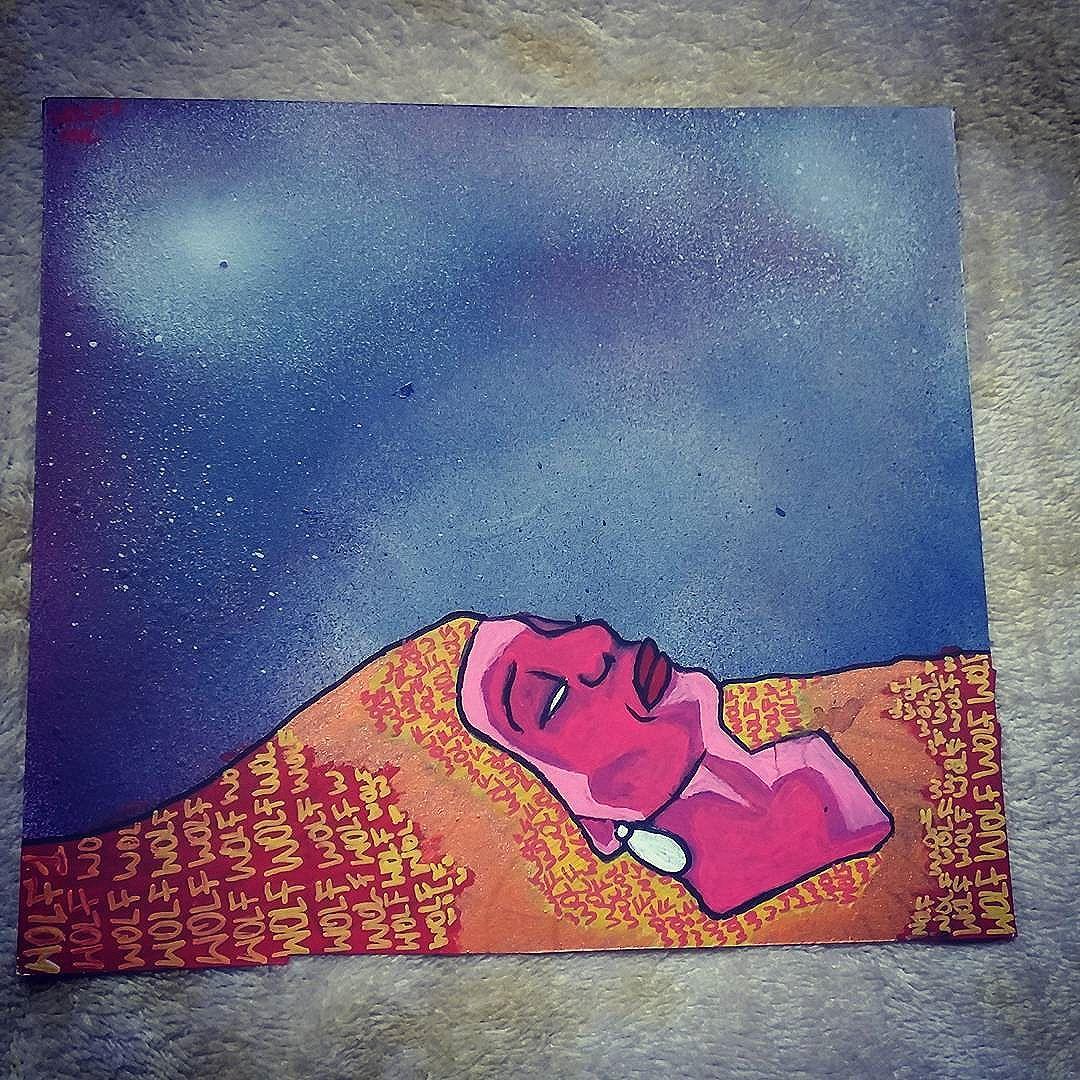 A mulher é como a noite calma ,fria  e dos poetas a maior inspiração. #calvinwolf #wolf #vandal #streetart #streetartrio #graffiti #instagraffiti #ilustração
