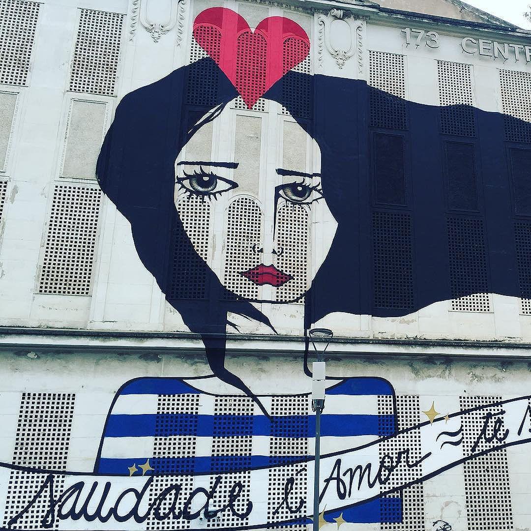 Happy Valentine's Day! O painel de Rita Wainer é uma das belezas que compõe o visual do Porto Maravilha, no Rio de Janeiro. #bemyvalentine #portomaravilha #riodejaneiro #ritaweiner #artsmarketing #streetartrio