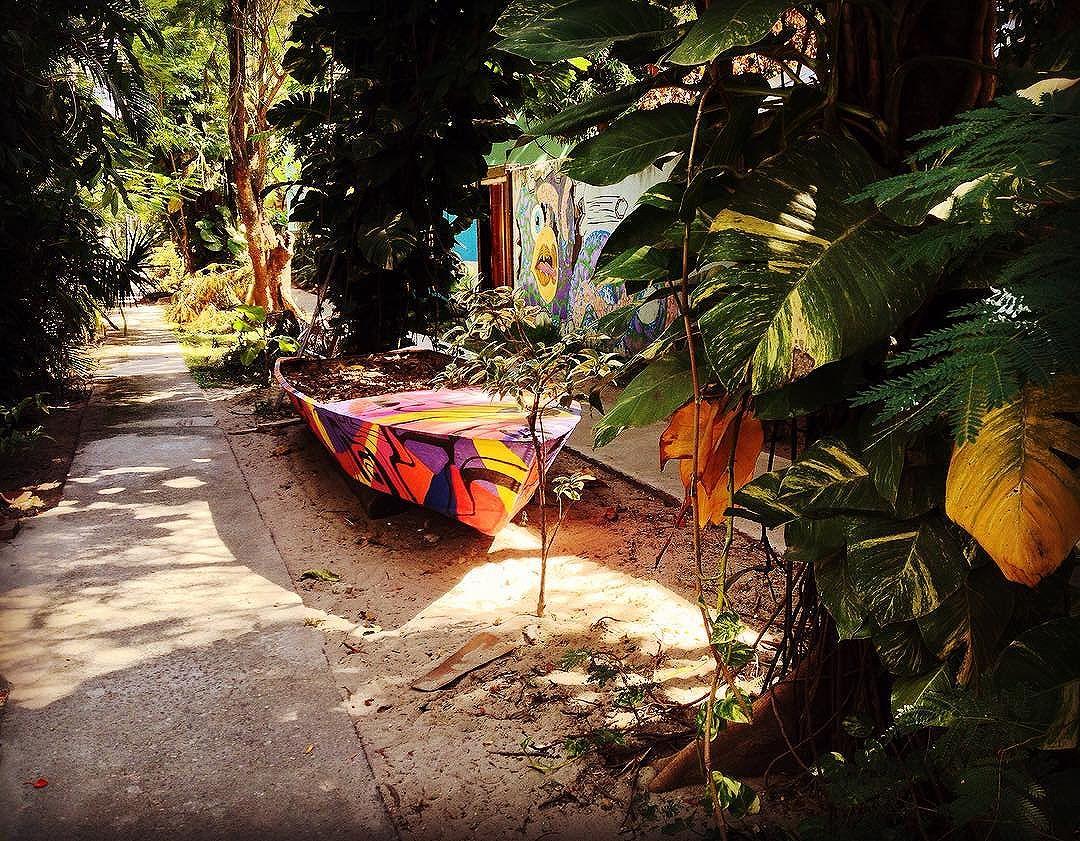 """Sossego,paz e tranquilidade no meio da """"Babilônia"""". Sem sinais,sem carros,sem buzinas. Silêncio. Ilha da Gigóia,Barra da Tijuca,Rio de Janeiro. **** Tranquility and peaceful in the middle of """"Babylon"""". No cars,no horns. Silence. Gigóia Island,Barra da Tijuca,Rio de Janeiro. **** #riodejaneiro #ilhadagigoia #barradatijuca #ilha #island #instawalkrio #sossego #silence #relax #tranquility #streetart #streetartrio #streetarteverywhere #graffiti #grafite #artrua #arteurbana #orionaoesopraia #fugereurbem #carpediem #colors #cores #naturallight #goodday #afternoon #summer #verao #silencio #nostress  #peaceful"""