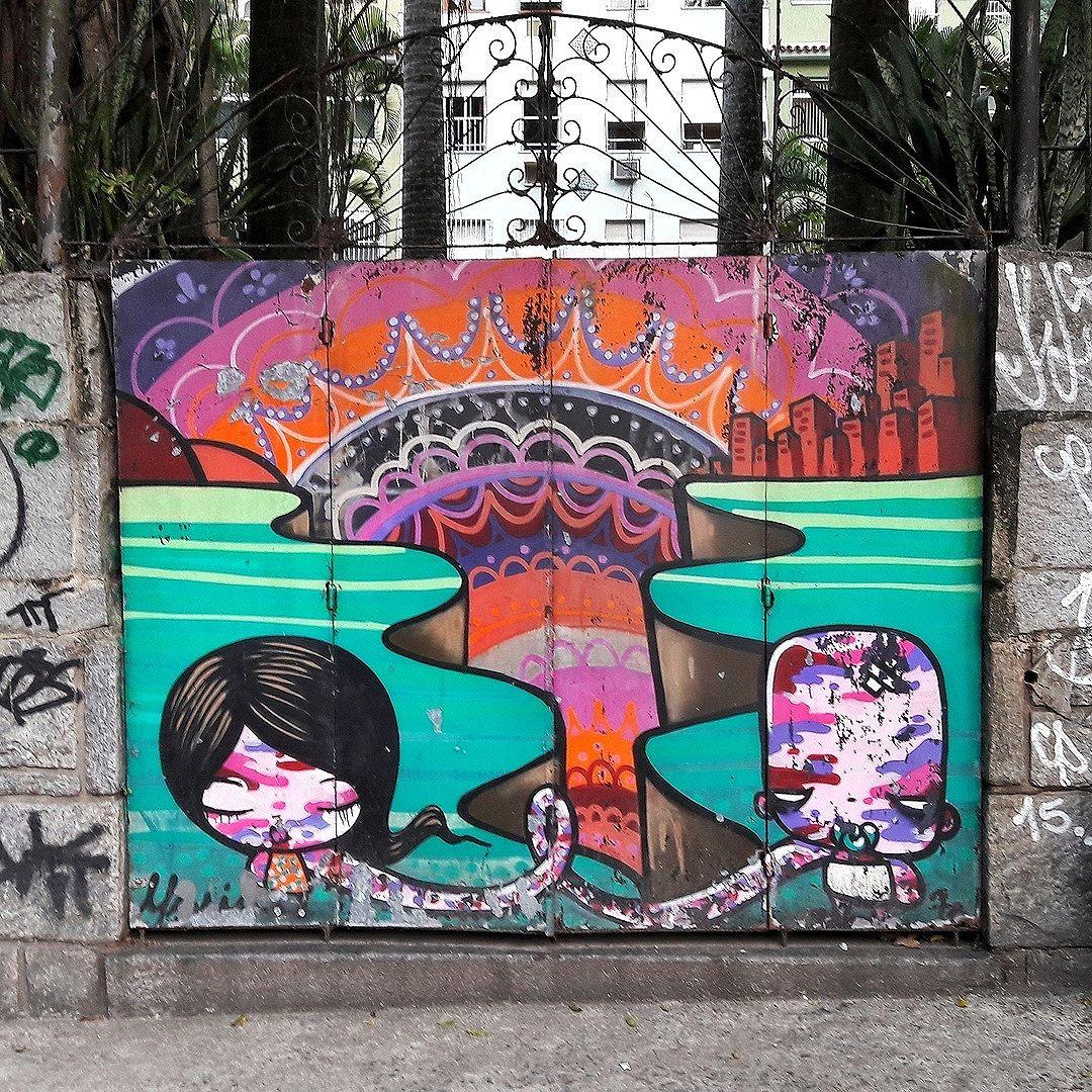 #StreetArtRio  Grafite na praça Augusto de Lima, próximo ao entroncamento com a rua Marquês de São Vicente, na Gávea. Artista: Toz (@tozfbc) Tirada em 19/06/2016 ____________________________________  Quer conhecer mais obras deste artista e de tópicos relacionados? Explore mais em: #g021_toz