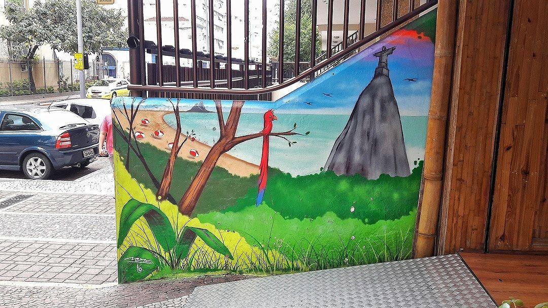 #StreetArtRio  Grafite na rua  Artista: Sark (@robson_sark) Tirada em 16/11/2016 ____________________________________  Quer conhecer mais obras deste artista e de tópicos relacionados? Explore mais em: #g021_sark