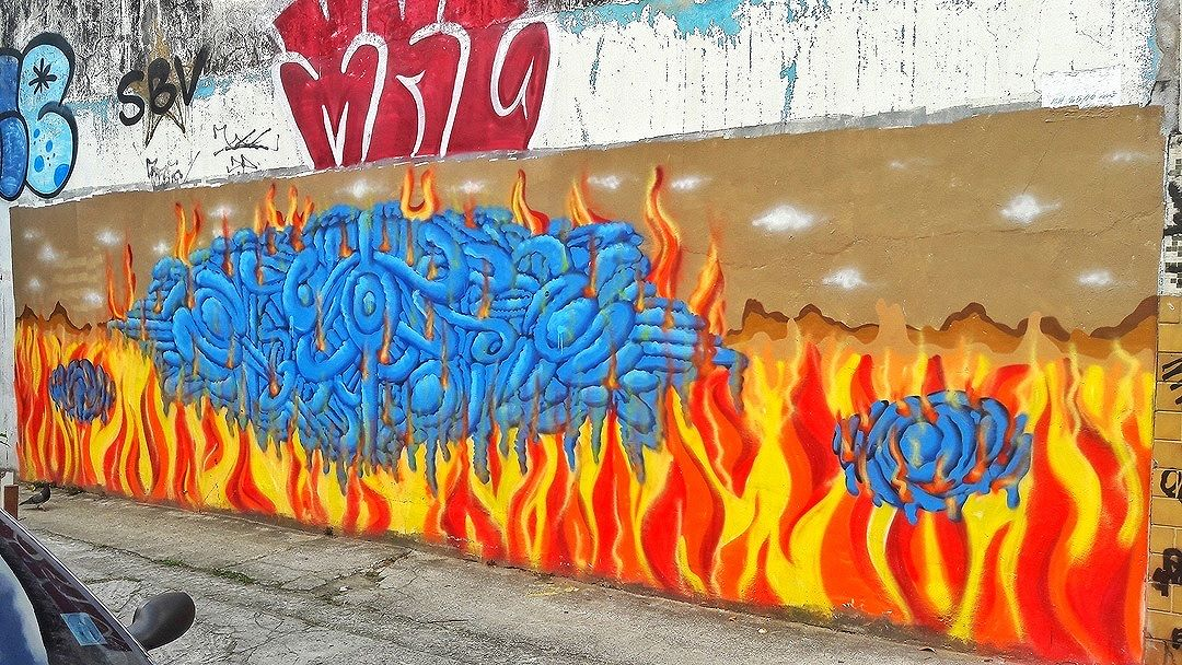 #StreetArtRio  Grafite na rua Barão de Itaipú, próximo à esquina com a rua Barão de Mesquita, no Andaraí. Artista: FX (@efixis) Tirada em 10/09/2016 ____________________________________  Quer conhecer mais obras deste artista e de tópicos relacionados? Explore mais em: #g021_fx