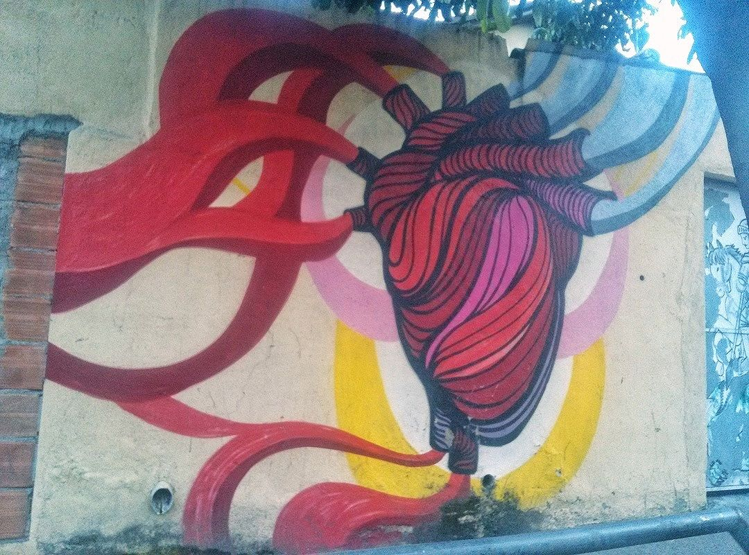 #StreetArtRio  Grafite na rua Maxwell, entre as ruasSilva Téles eAgostinho Menezes, em Vila Isabel. Artista: Big (@brunobig) Tirada em 27/03/2016 ____________________________________  Quer conhecer mais obras deste artista e de tópicos relacionados? Explore mais em: #g021_big