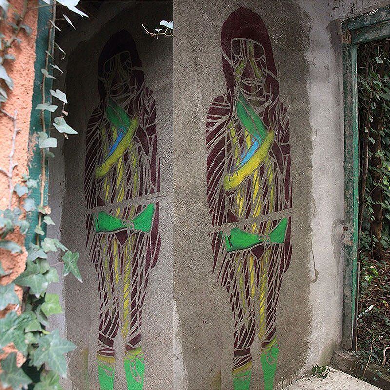 Tropico triste! by StDsgn Mixed Media Painting Street Art Montpellier 2017 WebSite : stdsgn.fr  #StDsgn #StreetDesign #MixedMediaPainting #spray #acrylic #stencil #streetart  #streetartist #graffiti #graffitiart #paint #street #design #art #casabondels #montpellier #paris #london #newyork #rio #saopaulo #streetartmontpellier #streetartparis #streetartlondon #streetartnewyork #streetartrio #stdsgn