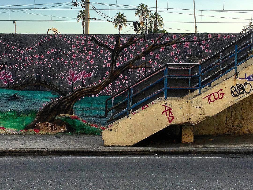 arte na linha. #streetartrio