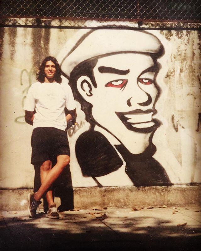#dazantigas #meton #grafiterio #streetartrio Esse foi meu segundo Graff na rua, papo de ano 2000