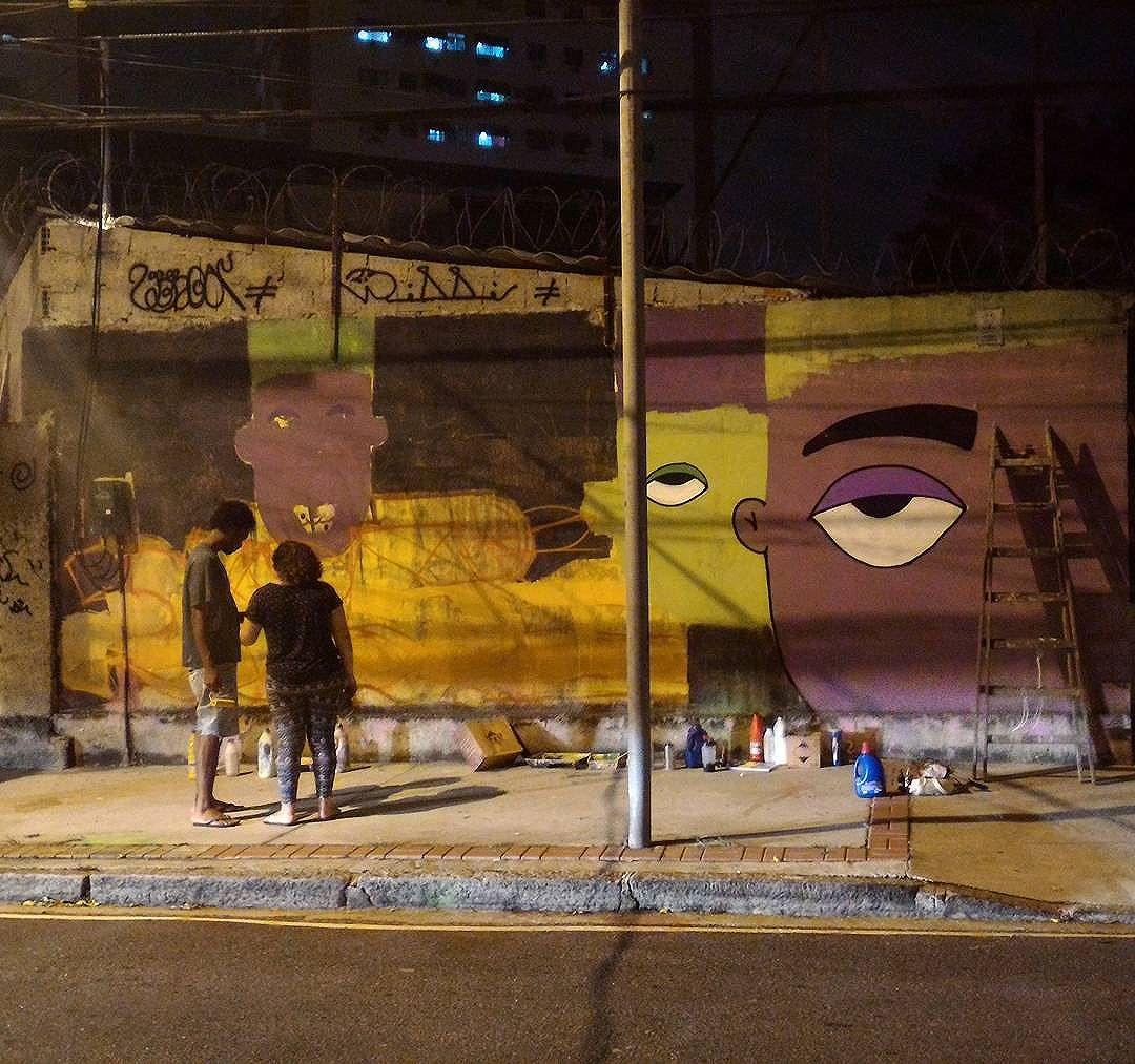 Dia 21: fechando bem :) #grafitti #streetartrio