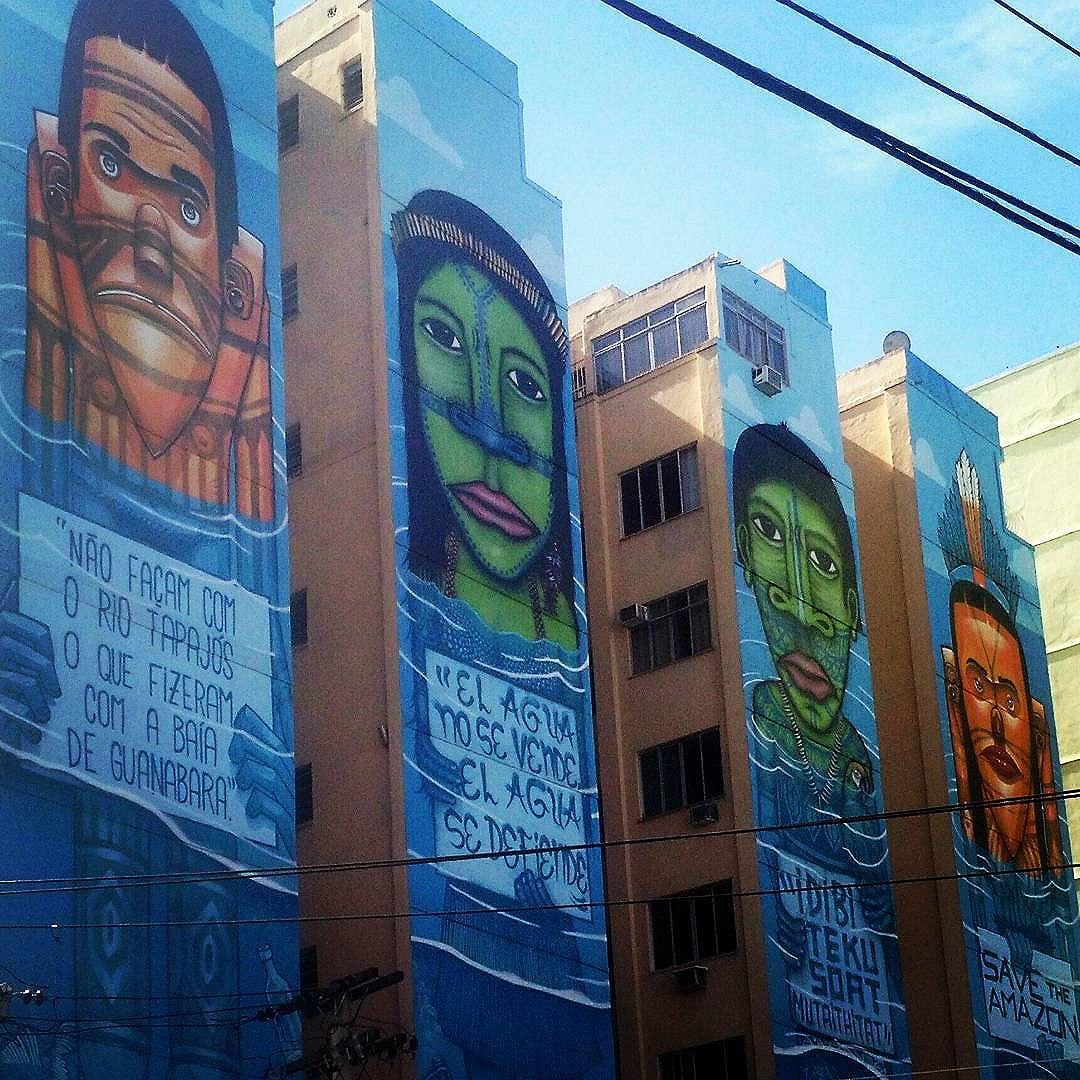 #DiaMundialdaÁgua #22demarço #WorldWaterDay #March22 Artist: @marceloeco #streetart #urbanart #artederua #arteurbana #StreetArtRio #marceloeco #grafite #grafitti #instagrafite #streetarteverywhere #Tijuca #TJK #tijukistan #zonanorterj