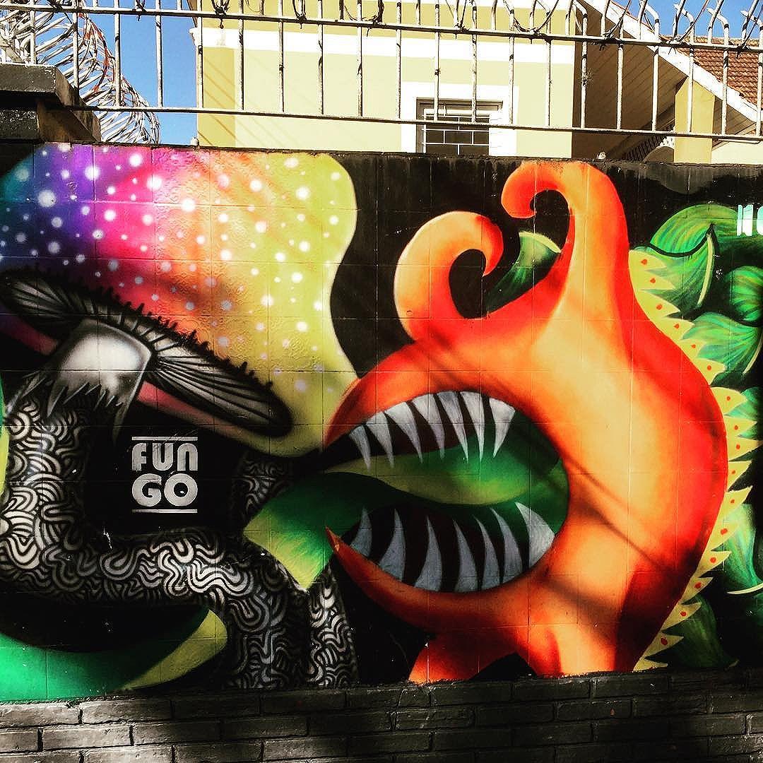 #funky #mushrooms #curitiba street art from my recent trip to #Brazil with the http://www.shuffledemons.com #streetart #publicart #graffiti #instagraffiti #urbanart #graffart #graffitiart #graff #streetartrio #murals #popart #newpublicart #graffitistreet #wallgraffiti #kunst #art #sprayart #wallart #publicartwork #art_public #streetartcuritiba #curitibainstagram #curitibapics