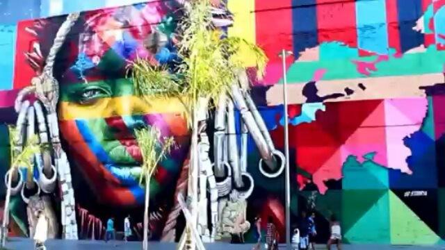 #kobra #piermauá #riodejaneiro #errejota #errejota021 #mural #etnias #novazonaportuaria #rj #maiorgrafitedomundo #portomaravilha #eduardokobra #maiormuraldomundo #piermauá #vlt #grafite #graffiti #tourism #arte #arteurbana #art #guinessworldrecords #streetartist #streetartrio #kobraart #kobrapaint #kobraartist #colors #brightcolors #brazilianartist #painting