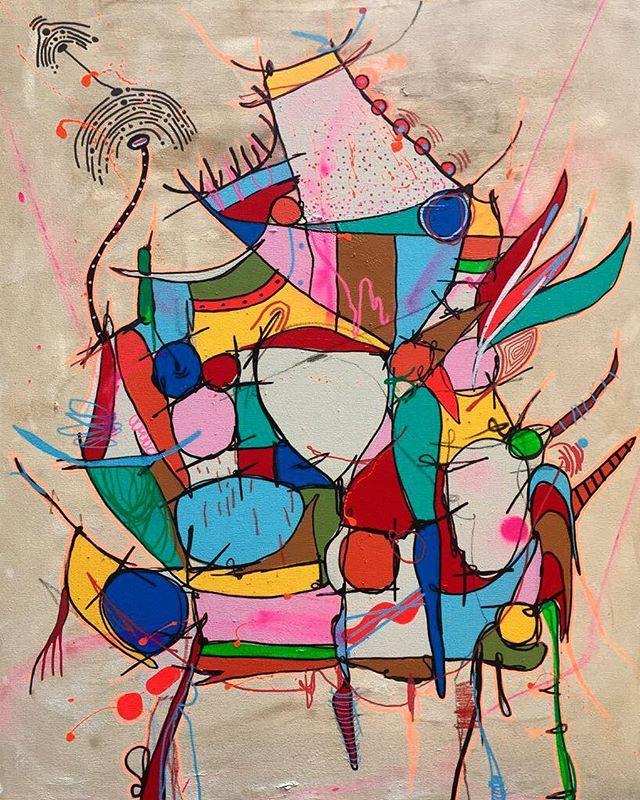 """""""Minha Fantasia Predileta"""" tela do artista @smael13 disponível na Galeria Paçoca.  #artwork #contemporaryart #artgram #artecontemporanea #galeriapaçoca #art #arte #streetart #streetartrio #urbanart #graffiti #graffitiartist #graffitirio #smael13 #graffitibrasil"""