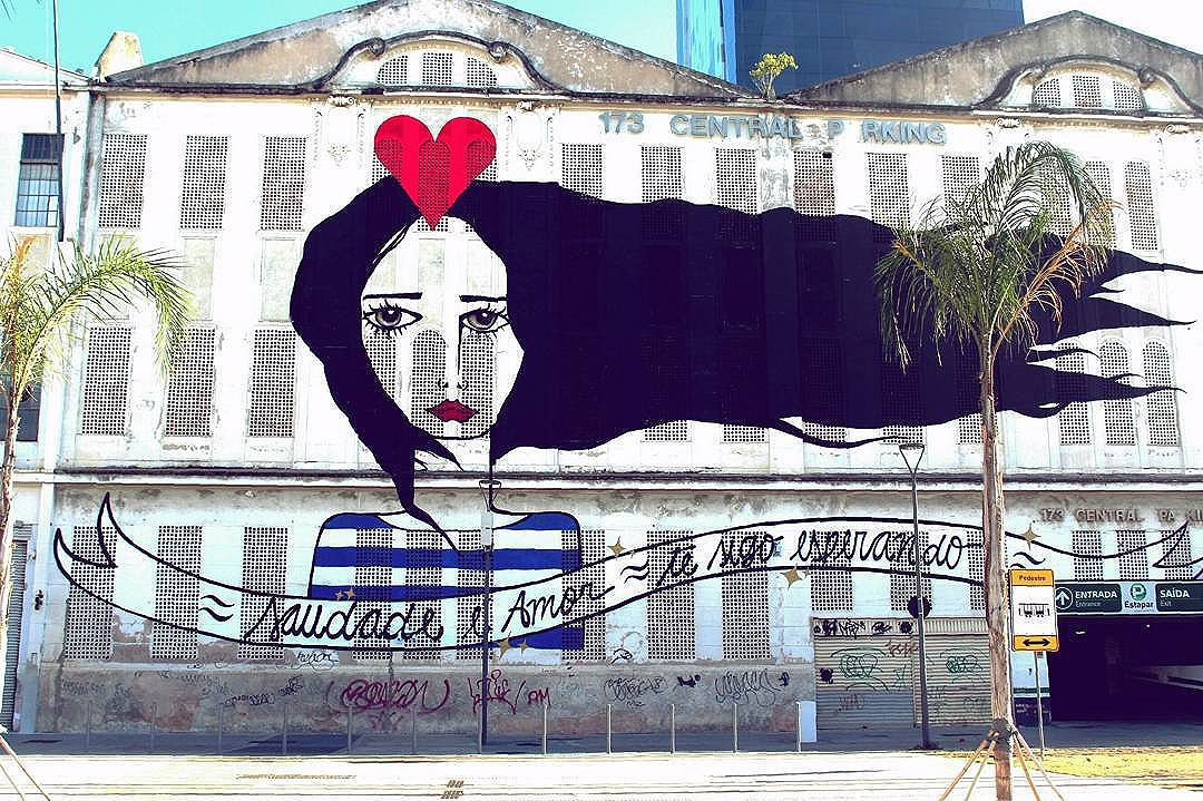 #piermauá #riodejaneiro #ritawainer #errejota #021 #portomaravilha #saudadeéamortesigoesperando #centrodorio #portomaravilha #StreetArtRio
