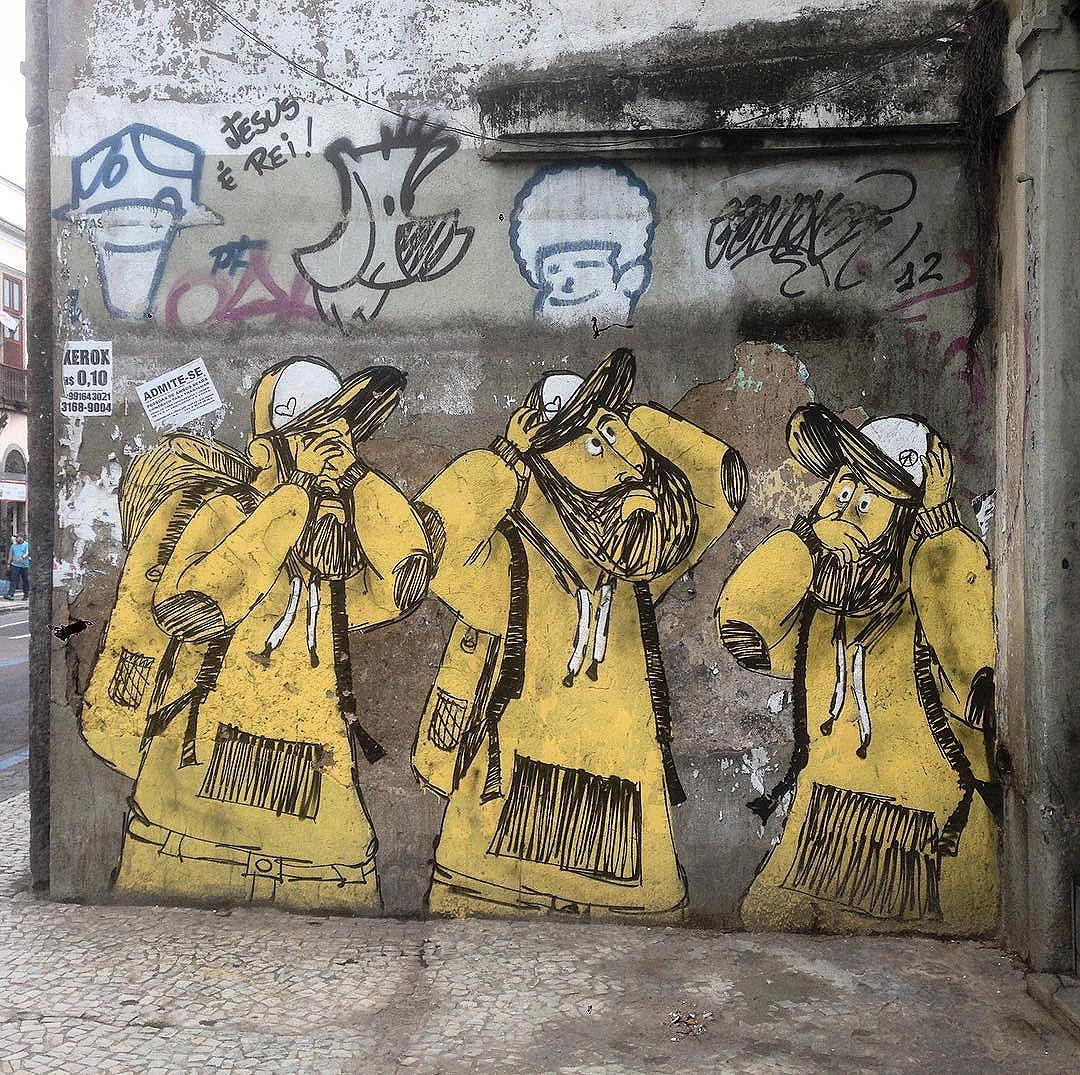 Art done by @cazearte #graffiti #graffporn #streetart #streetartrio #streetartglobe #urbanart #spraydaily #muralsdaily #riodejaneiro #brazil