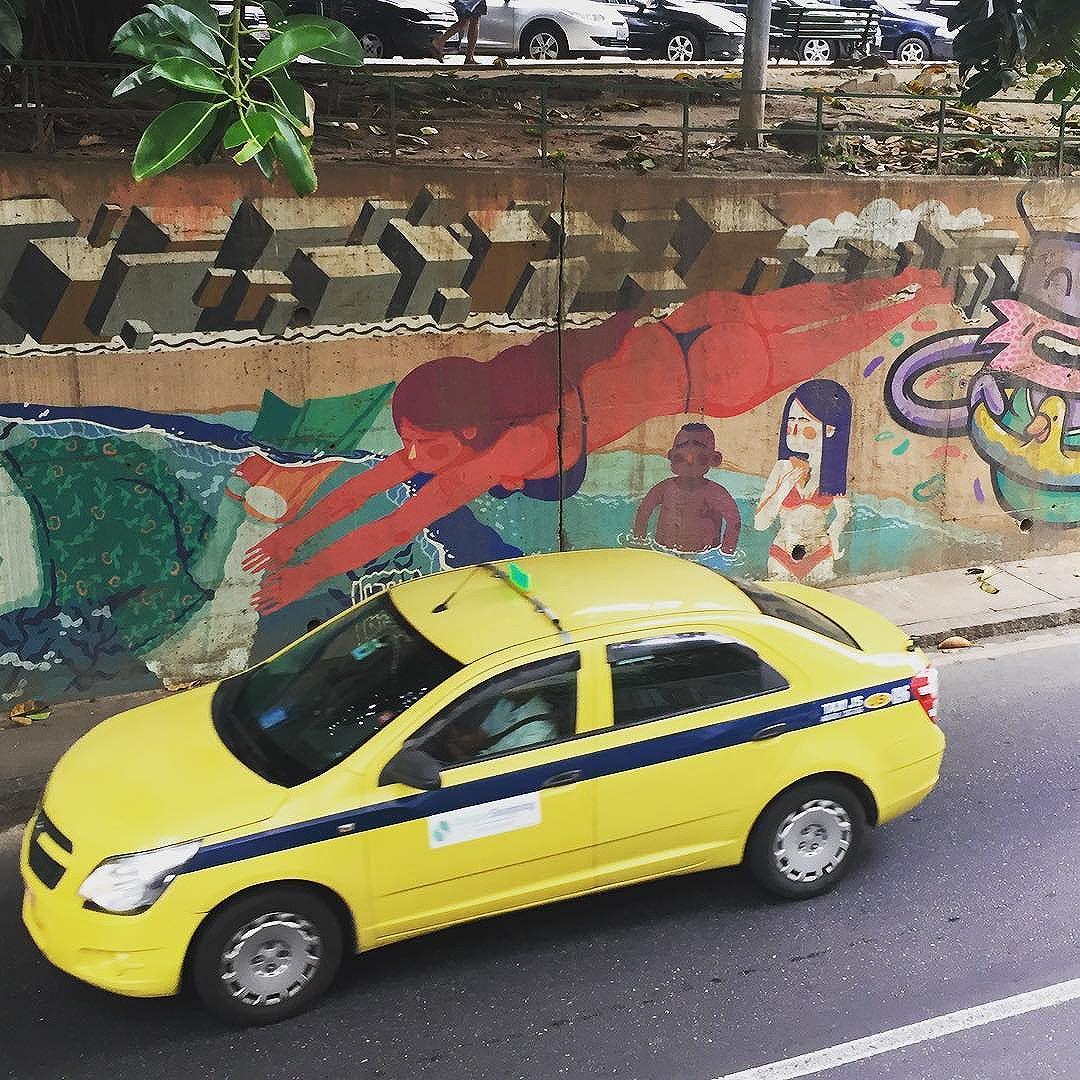 diving #rio #rj #streetart #streetartrj #streetartrio