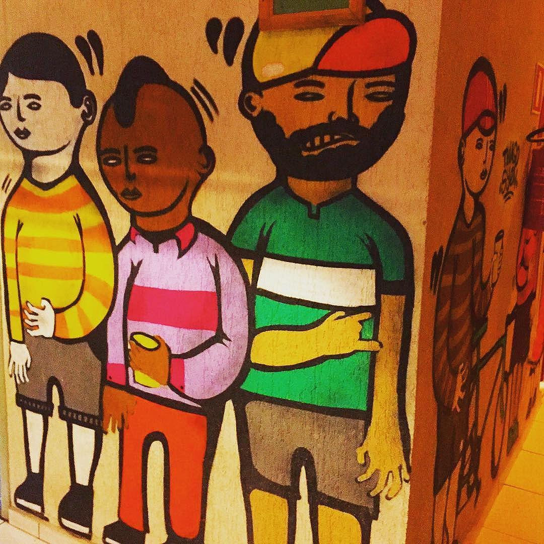 #dudes in #curitiba #streetart from my recent trip to #Brazil with the http://www.shuffledemons.com #streetart #publicart #graffiti #instagraffiti #urbanart #graffart #graffitiart #graff #streetartrio #murals #popart #newpublicart #graffitistreet #wallgraffiti #kunst #art #sprayart #wallart #publicartwork #art_public #streetartcuritiba #curitibainstagram #curitibapics