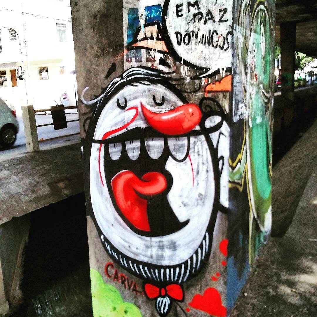 Em paz Avenida Paulo de Frontin  Rio Comprido  #StreetArtRio  #grafittinoriodejaneiro