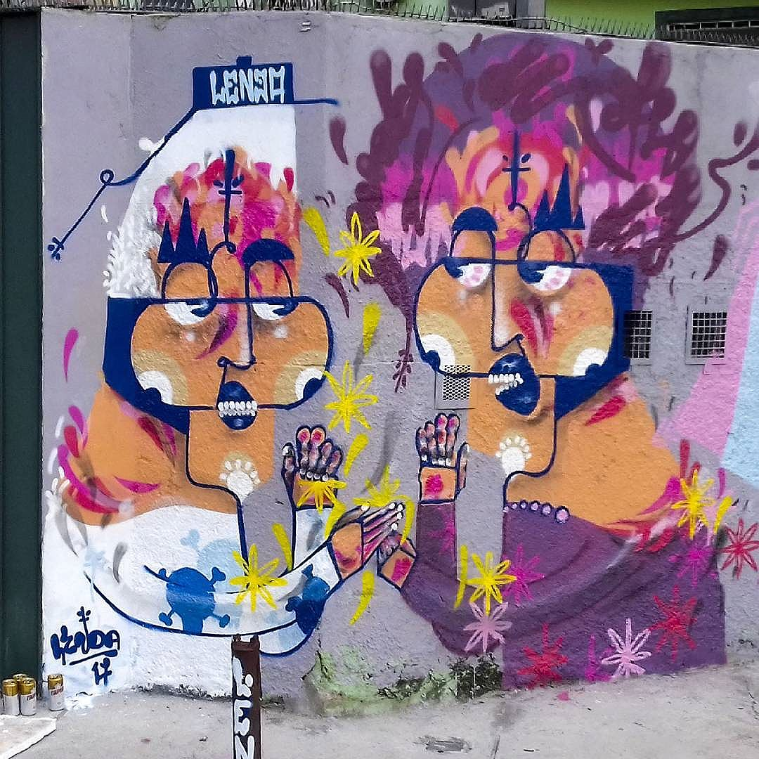 Mündo de Ilüsões.....Lënda. @graffitisolidario