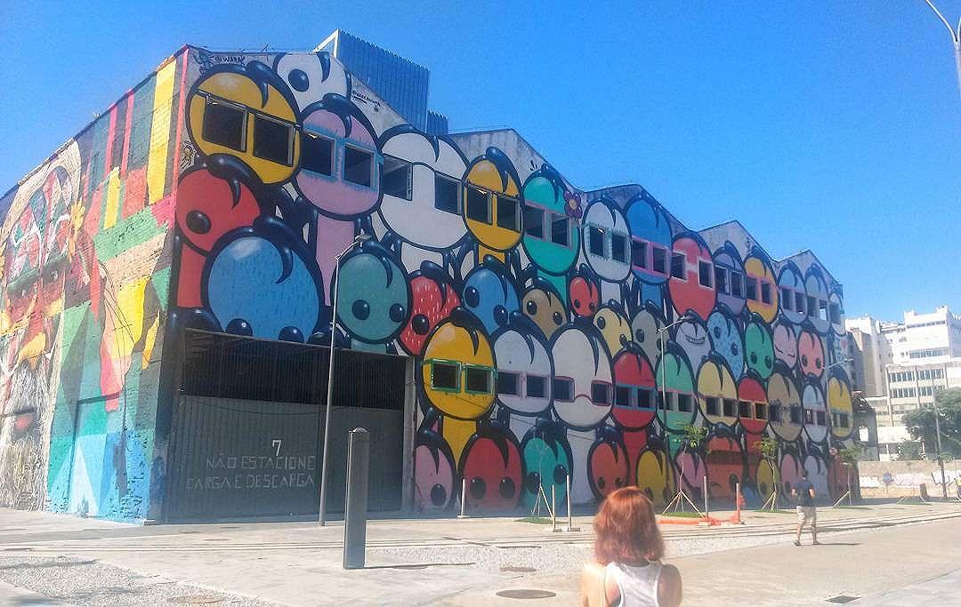 #streetartrio #portomaravilha #blessed