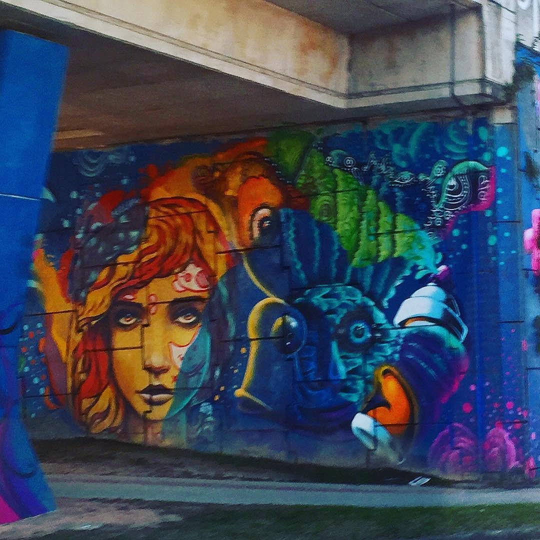 #underpass #art #curitiba #streetart from my recent trip to #Brazil with the http://www.shuffledemons.com #streetart #publicart #graffiti #instagraffiti #urbanart #graffart #graffitiart #graff #streetartrio #murals #popart #newpublicart #graffitistreet #wallgraffiti #kunst #art #sprayart #wallart #publicartwork #art_public #streetartcuritiba #curitibainstagram #curitibapics